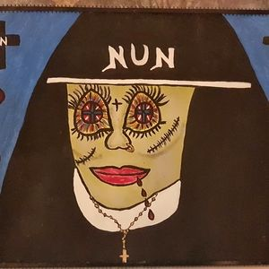 Other - Original painting of a Nun
